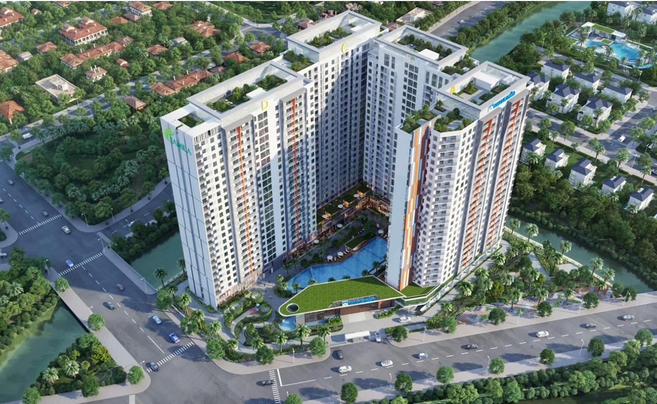 Khu căn hộ Jamila Khang Điền