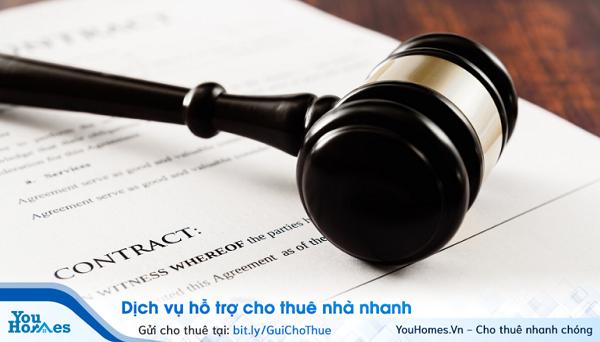 Hợp đồng thuê nhà là hợp đồng viết tay, không có công chứng nhưng vẫn có hiệu lực về mặt pháp luật.