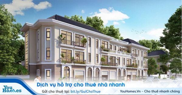 Các căn liền kề Vinhomes Green Bay sở hữu thiết kế đẳng cấp sang trọng, xứng tầm sản phẩm cao cấp của Vinhomes.