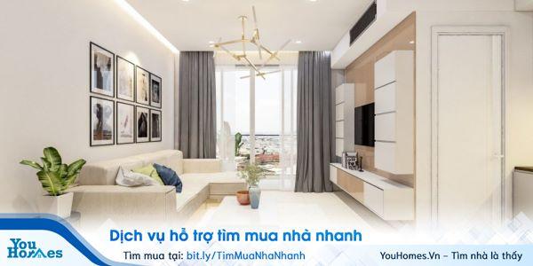 Thiết kế nội thất tối ưu của chung cư An Bình City.