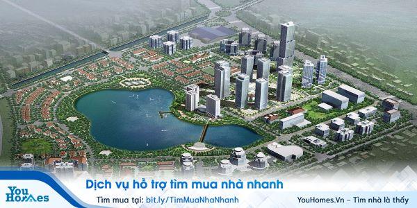 Dự án chung cư An Bình City nằm trong Thành phố Giao Lưu hiện đại.
