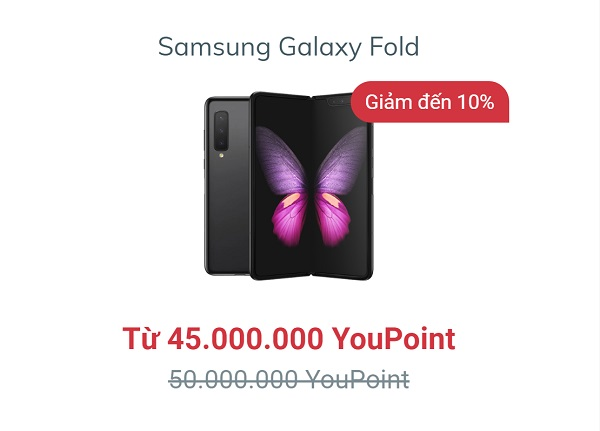 Samsung Galaxy Fold màn hình gập độc đáo, camera siêu đỉnh, bộ nhớ siêu khủng