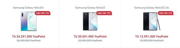 Tinh tế và sang trọng với dòng Samsung Galaxy Note 10
