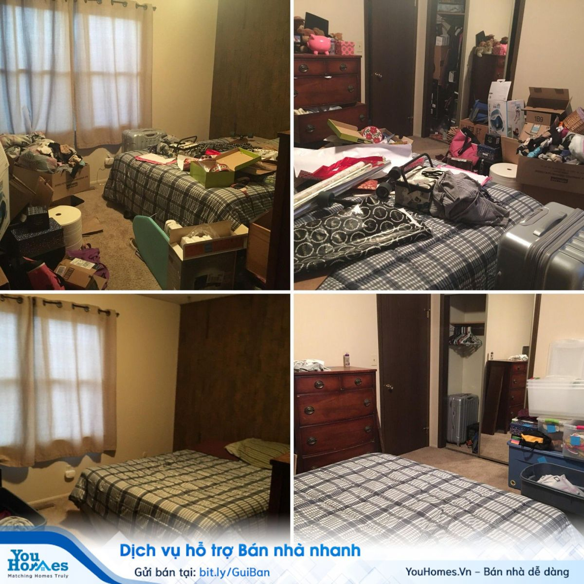 Căn hộ gọn gàng sạch sẽ bao giờ cũng thu hút khách hàng hơn những căn hộ bừa bộn cũ kỹ
