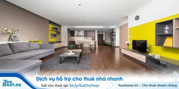 Bàn giao cơ sở vật chất khi cho thuê căn hộ chung cư.