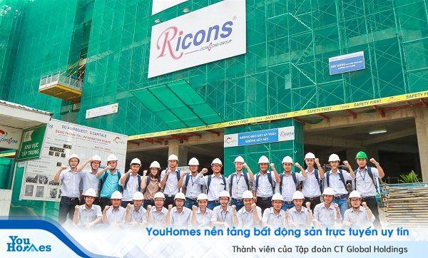 Công ty CP Đầu tư Xây dựng Ricons