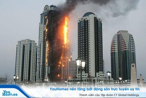 Cách tính phí bảo hiểm cháy nổ tại chung cư