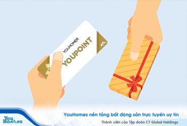 Hướng dẫn cách đổi quà bằng YouPoint trên nền tảng YouHomes.vn