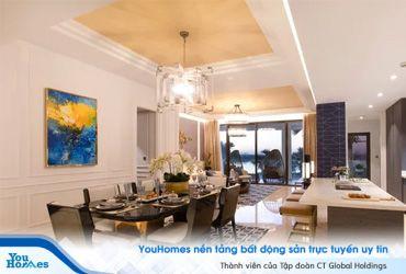 Không gian đẹp từng milimet tại căn hộ triệu đô sang trọng nhất Sài Gòn