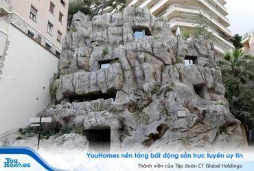 Biệt thự sinh thái 44 triệu đô la được xây dựng trong đá
