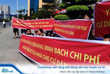 Nửa chung cư Hà Nội: chủ đầu tư chưa bàn giao phí bảo trì cho ban quản trị