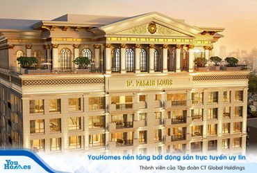Mất 10 năm để hoàn thành - D'. Palais Louis có gì đáng chú ý?
