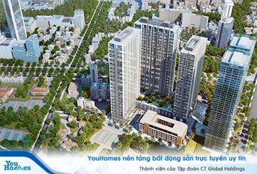 5 dự án chung cư cao cấp của Vingroup tại Hà Nội