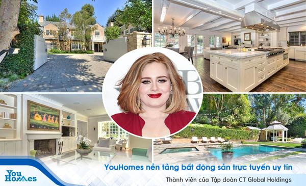 Biệt thự khủng trị giá 10,65 triệu USD của ca sĩ Adele tại Beverly Hills