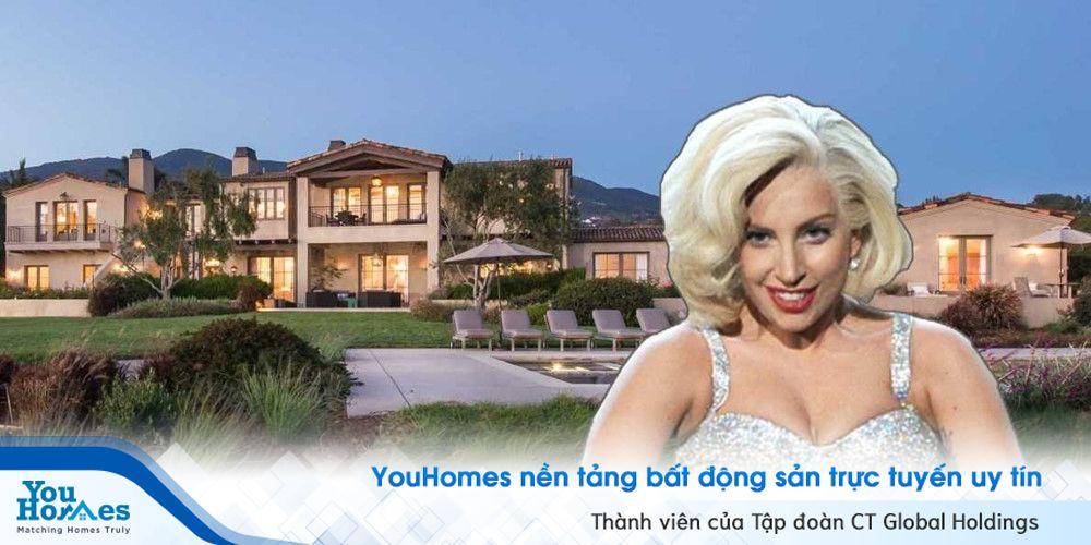 Cùng ngắm biệt thự siêu sang của Lady Gaga