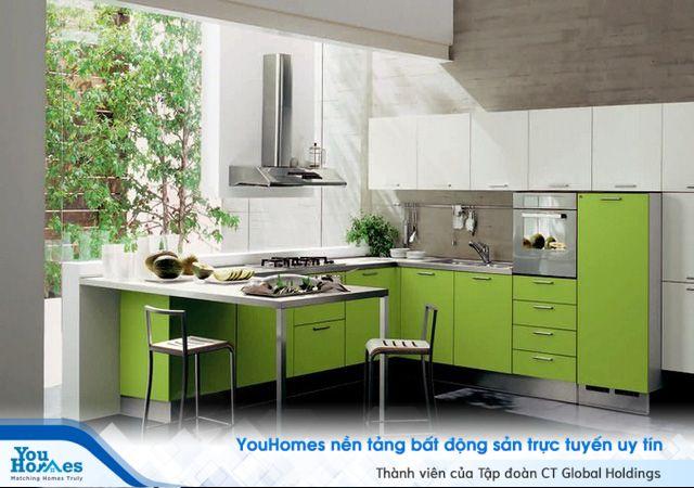 Ý tưởng mẫu tủ bếp giúp không gian bếp đẹp và sang đến không ngờ