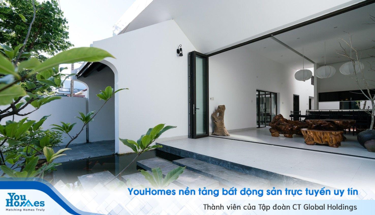 Sự kết hợp giữa hiện đại và truyền thống trong ngôi nhà Đà Nẵng