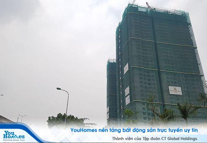 Cao ốc sai phép vẫn 'chình ình' trên đất trung tâm Hà Nội bất chấp đã hết thời hạn