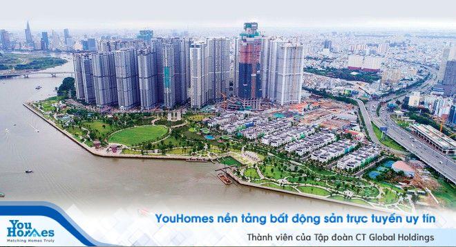 Cục nam châm thu hút vốn đầu tư bất động sản các tỉnh phía Nam TPHCM nằm ở điểm nào ?
