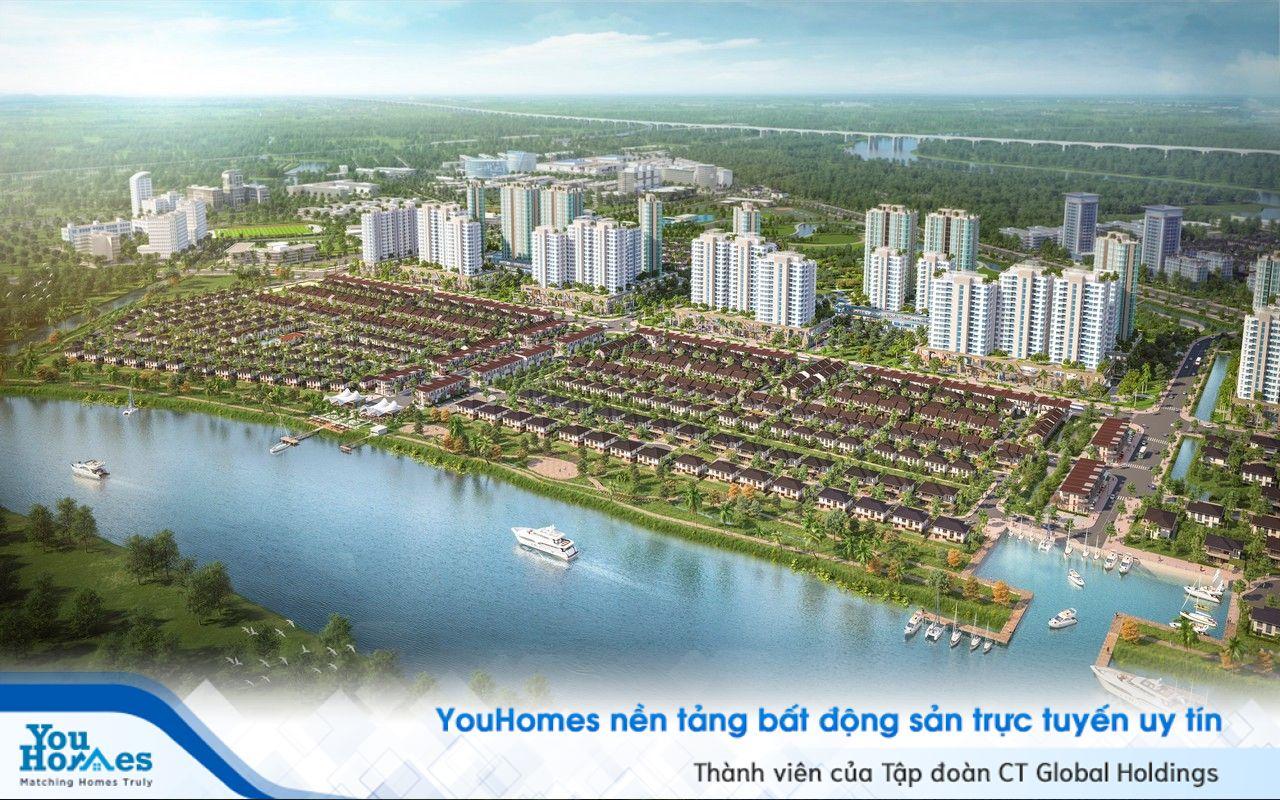 TP.HCM: Nhà đất đô thị ven sông ngày càng đắt giá