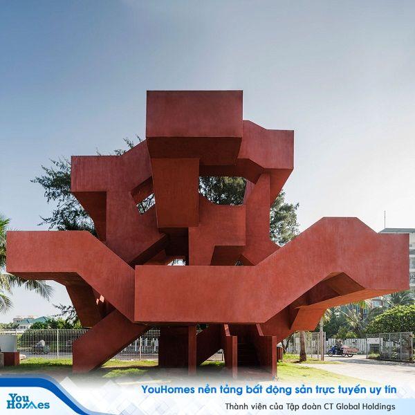 """""""Xoắn não"""" với mê cung Tháp 10Cal ở Thái Lan"""