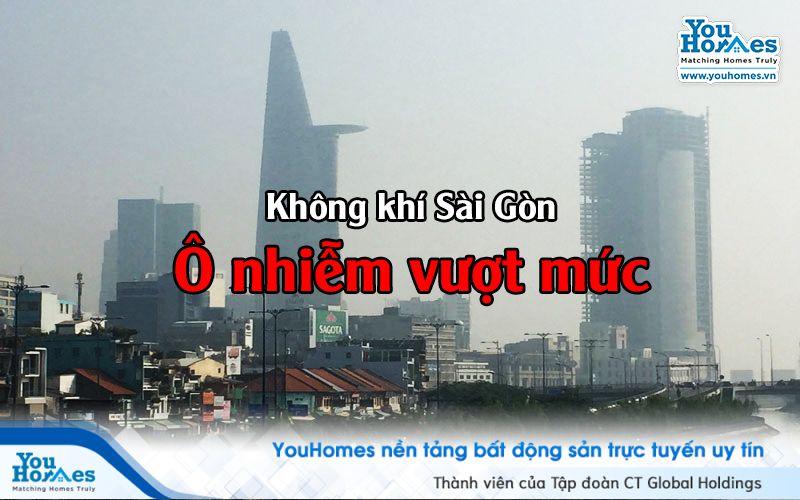 TP.HCM: Ô nhiễm không khí là do đâu?