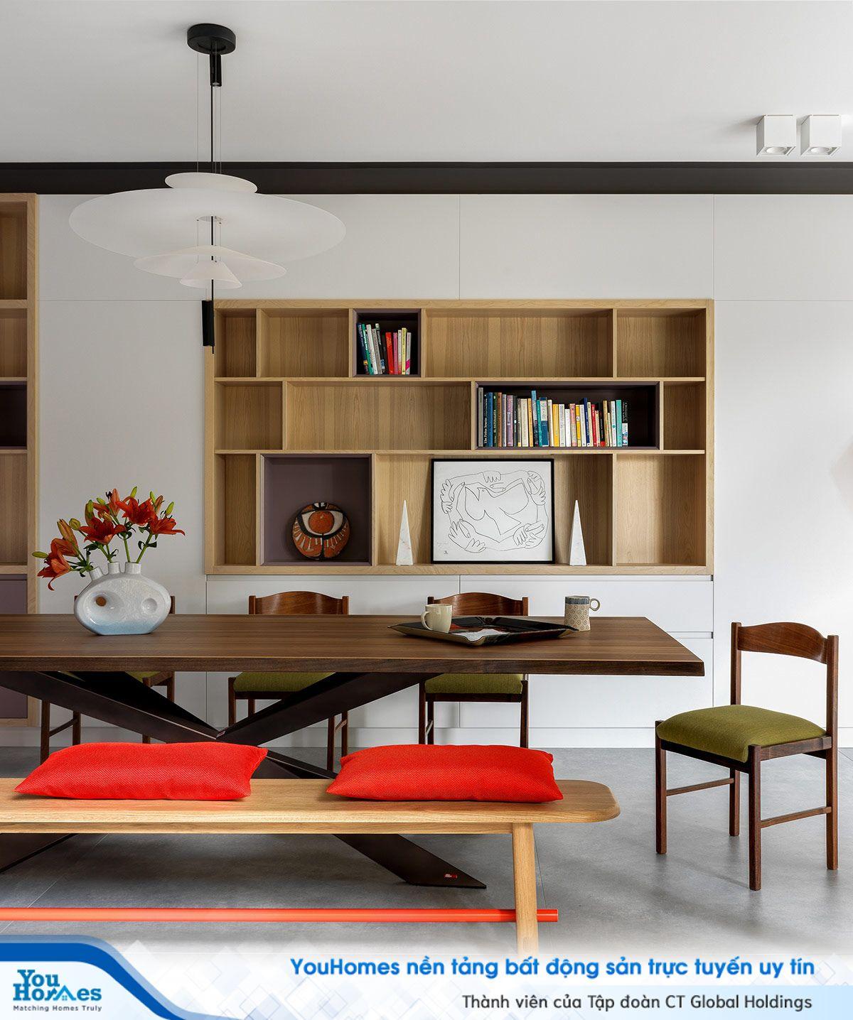 Ý tưởng độc đáo cho căn nhà hiện đại với những mảng màu sắc tinh tế