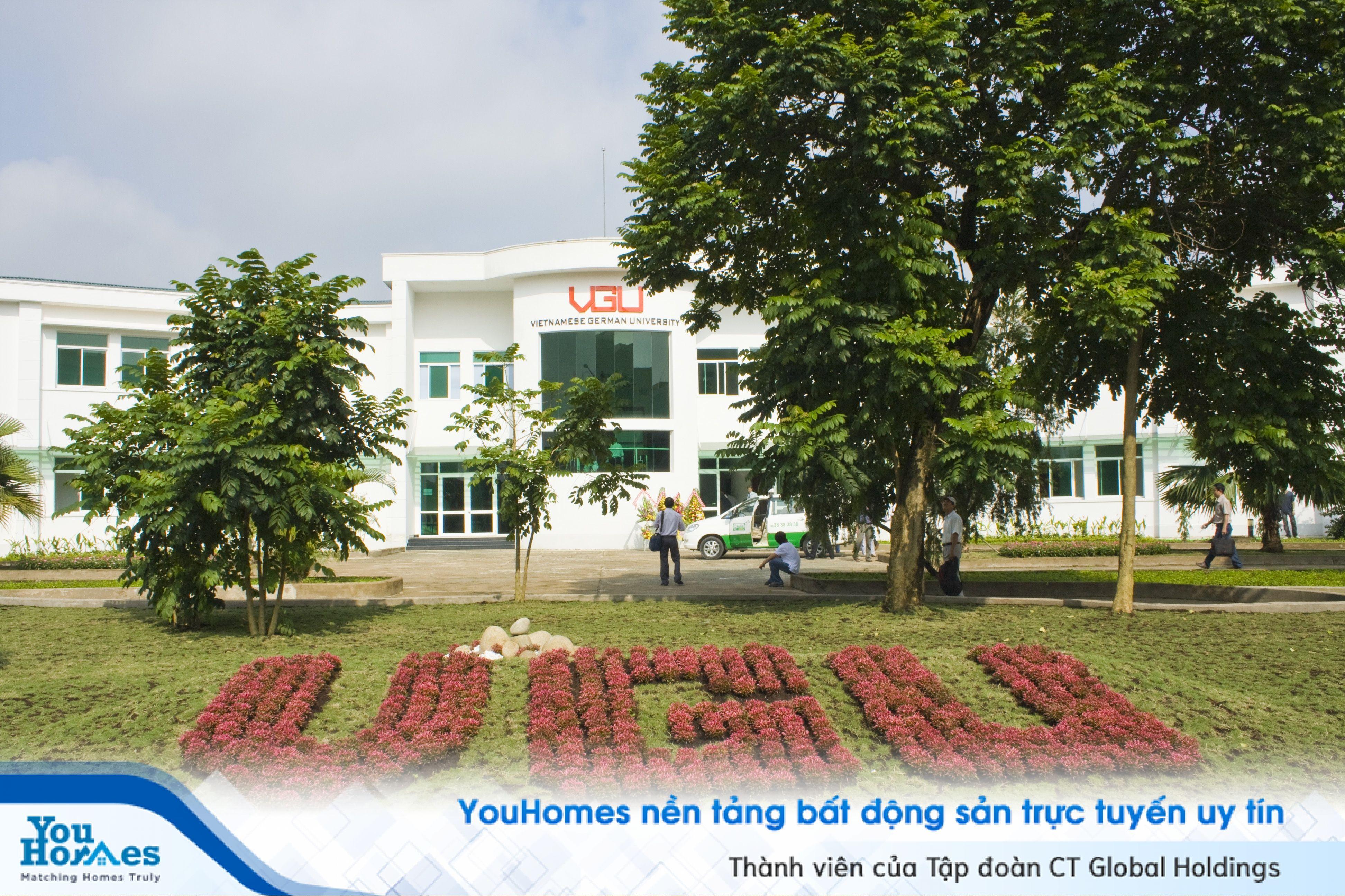 Bình Dương chuẩn bị khai trương trường Đại học quốc tế lớn hàng đầu Việt Nam