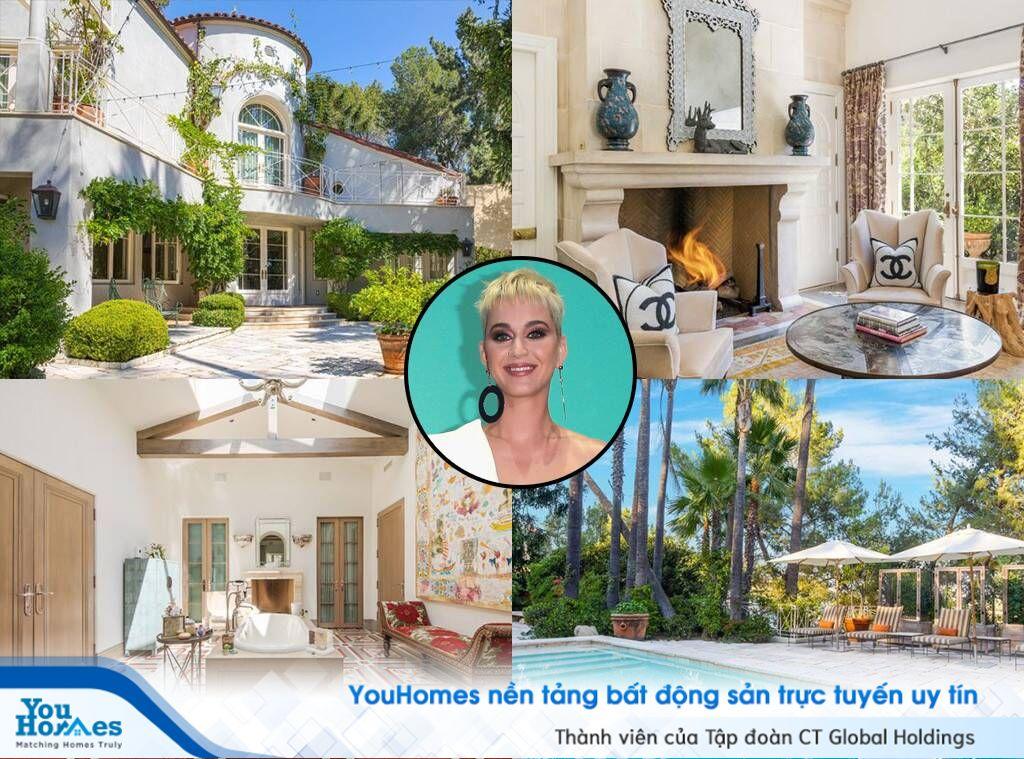 Có gì trong biệt thự hơn 200 tỷ đồng của ca sĩ Katy Perry?