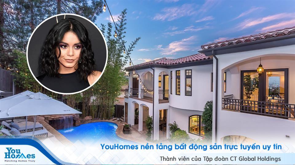 Trị giá hơn 3 triệu USD, biệt thự Vanessa Hudgens đang rao bán có gì đặc biệt?