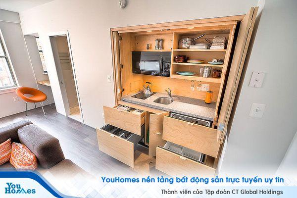 Những thiết kế tuyệt vời cho nội thất căn hộ thông minh
