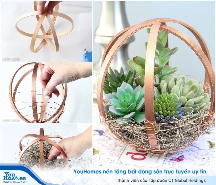 Gợi ý tuyệt vời cho khu vườn mini chỉ với những dụng cụ đơn giản