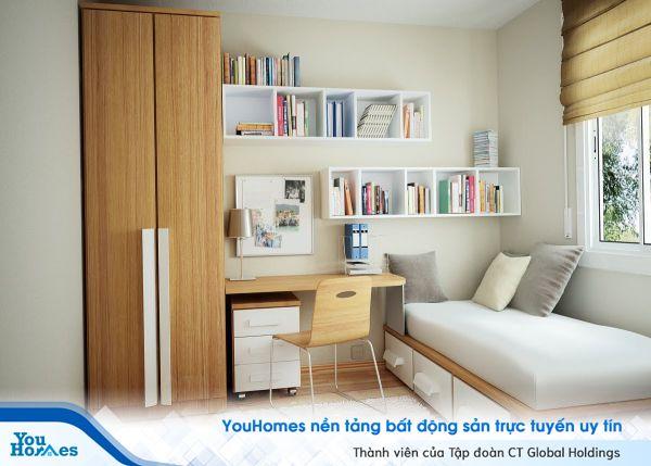 Gợi ý thiết kế phòng làm việc cho căn hộ nhỏ hẹp