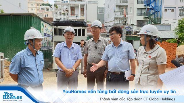 Nha Trang: Khảo sát một số công trình xây dựng trái phép trên địa bàn