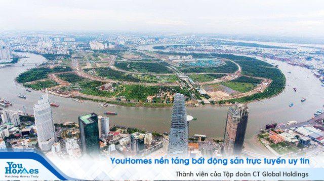 Khu Đô thị mới Thủ Thiêm: Thu hồi 1.800 tỷ đồng từ 4 tuyến đường nội khu