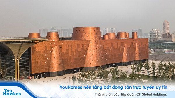Ấn tượng bảo tàng Exploratorium mang thiết kế hình ống khói khổng lồ