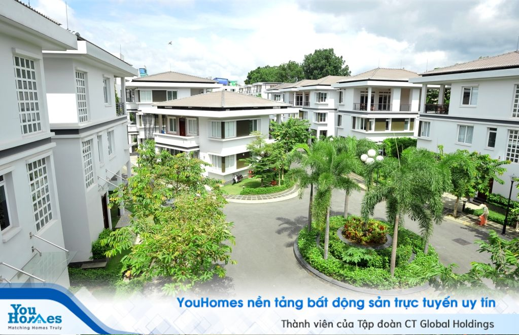 Biệt thự tại trung tâm Sài Gòn: Lập đỉnh mới 800 triệu đồng một m2