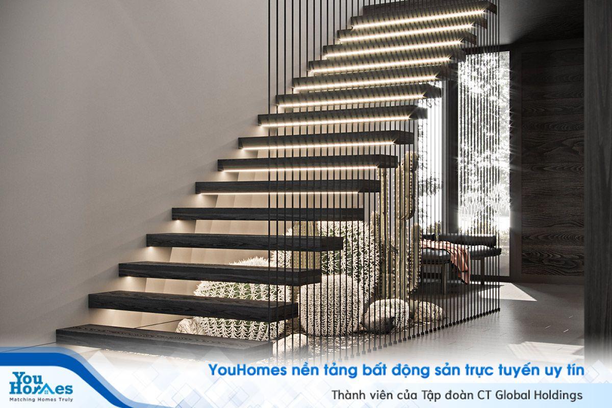 Gợi ý thiết kế cầu thang cho nhà hiện đại