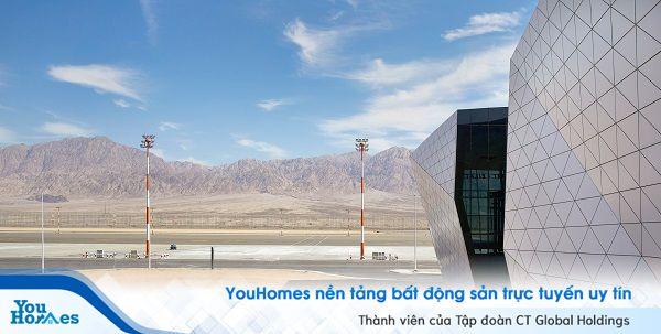Mọi điều bạn cần biết về sân bay Ramon mang kiểu dáng lạ trên sa mạc Israel
