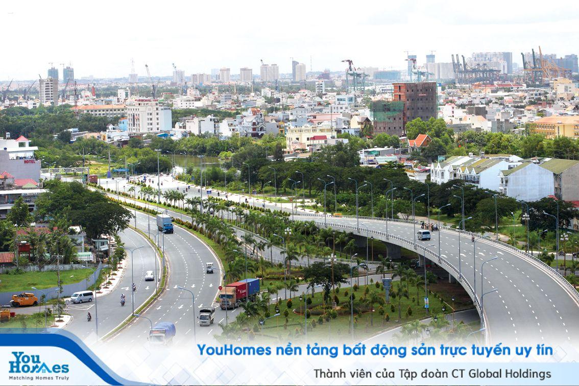 """Hạ tầng hoàn thiện, """"thay màu"""" Nam Sài Gòn toàn diện"""