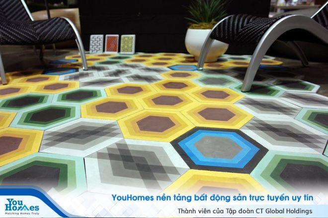 Thay đổi diện mạo căn nhà bằng thiết kế sàn gạch độc đáo