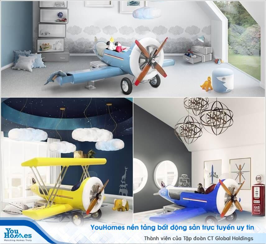 Có thể bạn chưa biết những thiết kế giường cực sáng tạo dành cho bé