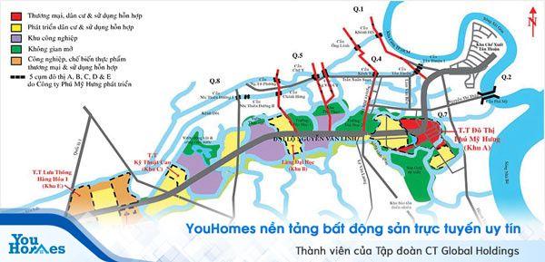 Khu vực Nam Sài Gòn nâng cấp hạ tầng đón làn sóng đầu tư bất động sản