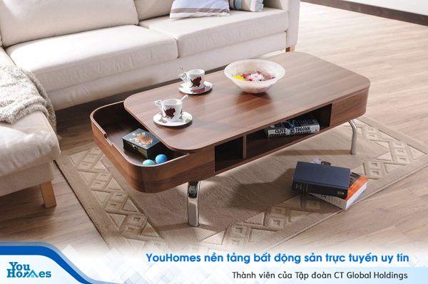 Gợi ý không nên bỏ qua cho mẫu bàn phòng khách đẹp và đa năng