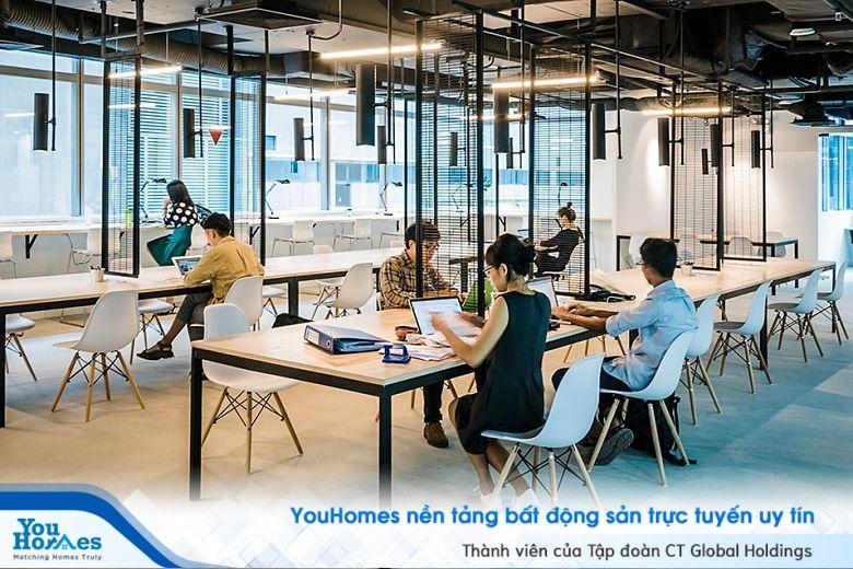 Văn phòng Co-working đang trở thành xu thế với nguồn đầu tư lớn từ nước ngoài