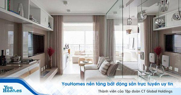 Căn hộ 35 m2 như rộng gấp đôi nhờ sử dụng
