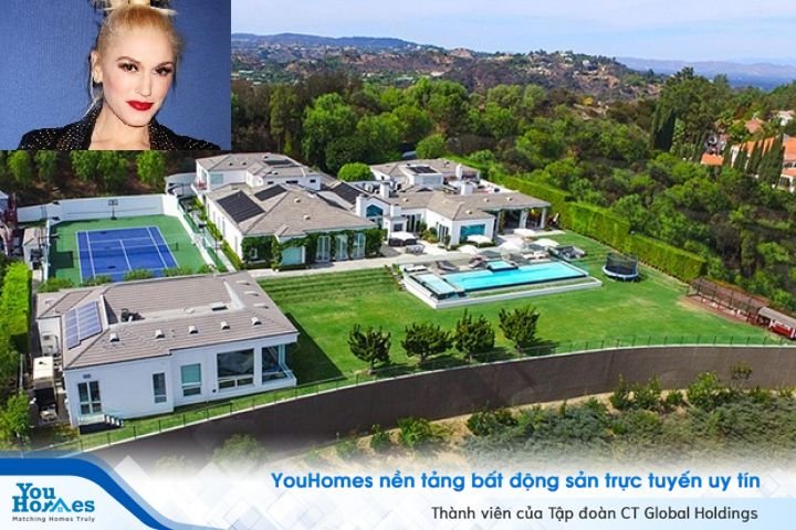 Mê mẩn căn biệt thự 22 triệu USD ở Beverly Hill vừa bán của Gwen Stefani
