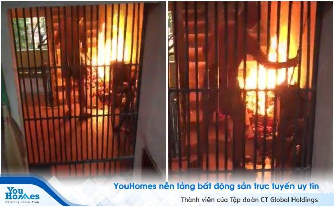 Có thể bị truy cứu trách nhiệm hình sự khi đốt vàng mã trong nhà chung cư