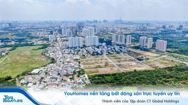 Nam Sài Gòn: Tâm điểm bất động sản của khu vực phía nam