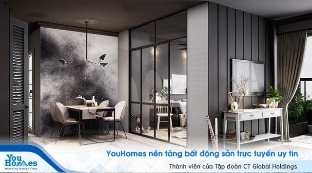 Xám - Gam màu tuyệt vời trong thiết kế nội thất